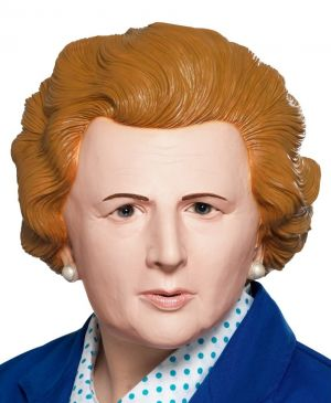 Adult Iron Lady Margaret Thatcher Full Head Mask