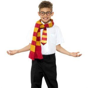Schoolboy Wizard Fancy Dress Set