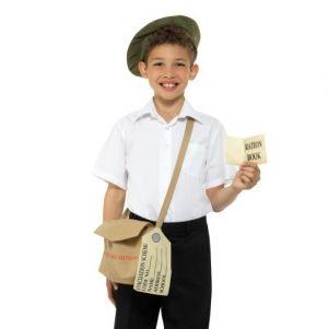 Childs World War II Unisex Evacuee Kit
