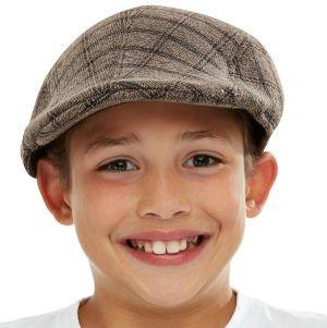 Childrens Victorian Boy Flat Cap