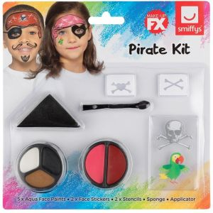 Childs Fancy Dress Make Up Kit - Pirate
