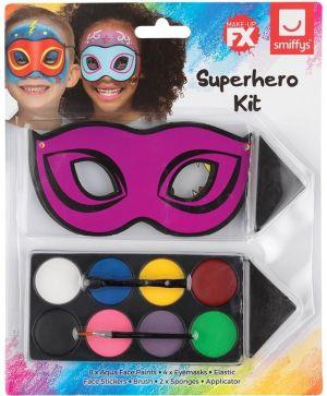 Superhero Face Paint Make Up Kit