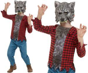 Childs Werewolf Fancy Dress Costume