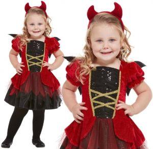 Toddler Little Devil Girl Costume