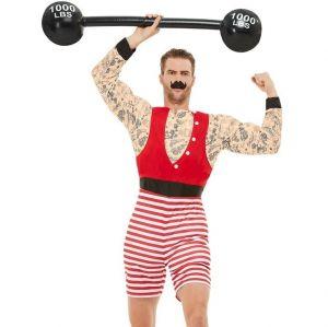 Mens Deluxe Circus Strongman Costume
