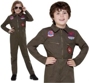 Childs Licensed Top Gun Pilot Costume