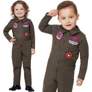 Baby & Toddler Officially Licensed Top Gun Pilot Costume