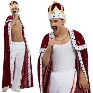 1980s Officially Licensed Queen Freddie Mercury 'Royal' Costume