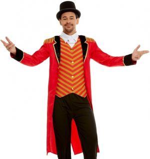 Mens Deluxe Ringmaster Fancy Dress Costume