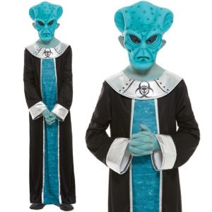 Childrens Alien Lord Fancy Dress Costume