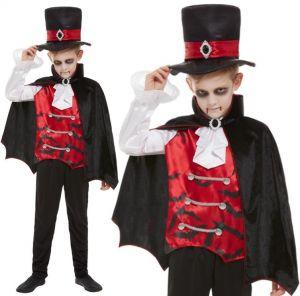 Childs Halloween Vampire Costume