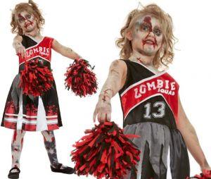 Girls Zombie Cheerleader