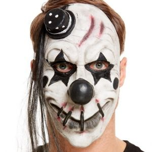 Latex Scary Clown Mask