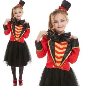 Girls Deluxe Ringmaster Costume