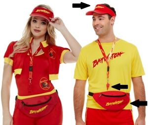 Unisex Officially Licensed Baywatch Kit