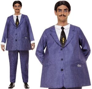 Mens Officially Licensed Addams Family Gomez Costume