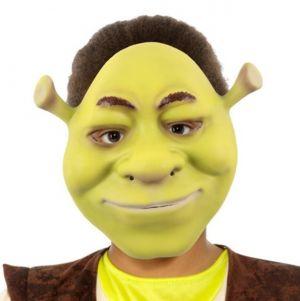 Childs EVA Foam Licensed Shrek Face Mask