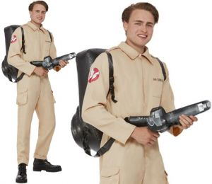 Mens Ghostbusters Costume by Smiffys