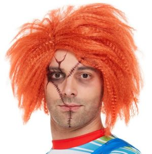 Mens Halloween Licensed Chucky Wig
