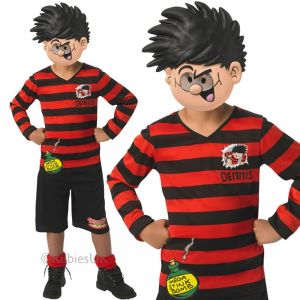 Childrens Beano Dennis the Menace Costume