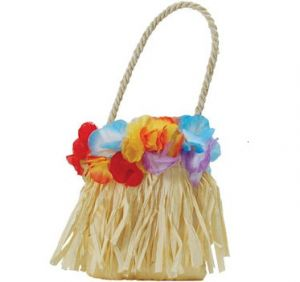 Hawaiian Fancy Dress Hula Handbag