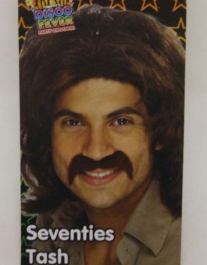 1970's Fancy Dress Tash - Brown