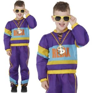 Childs 80s Tracksuit Costume