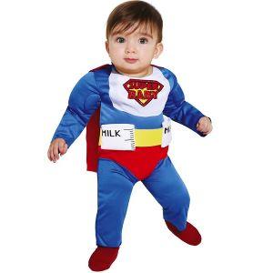 Milk Superhero Baby Costume