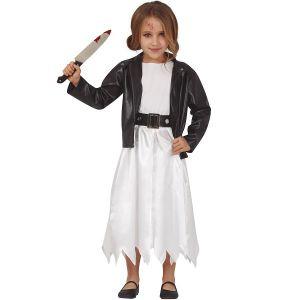 Girls Doll Bride Costume