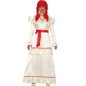 Ladies Possessed Doll Costume