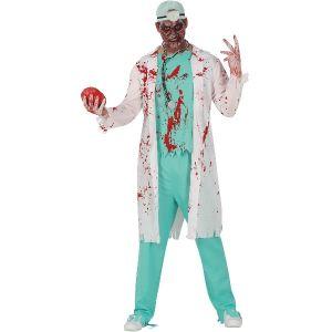 Adult Halloween Zombie Doctor Costume