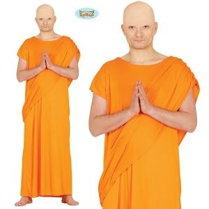 Mens Hare Krishna or Buddhist Monk Costume