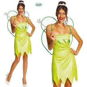 Ladies Green Fairy Costume