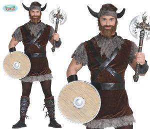 Mens Viking Fancy Dress Costume