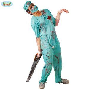 Mens Zombie Surgeon Costume