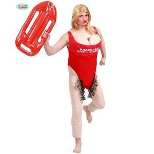 Mens Brazilian Lifeguard Costume