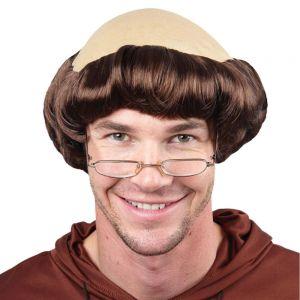 Mens Merry Monk Fancy Dress Wig