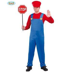 Mens Plumber or Train Driver Costume