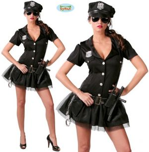 Ladies US Police Lady Costume