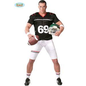 Mens American Football Quarterback Costume