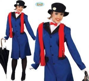 Ladies Babysitter Nanny Costume