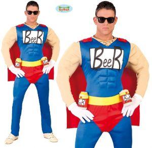 Men's Beerman Fancy Dress Costume