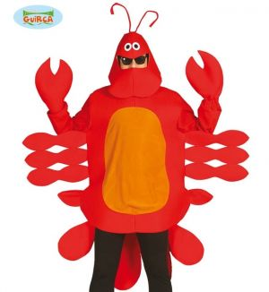 Mens Lobster Fancy Dress Costume