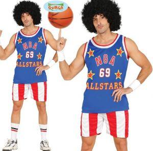 Mens USA Basketball Player Costume