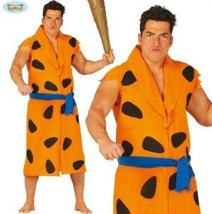 Mens Caveman Fancy Dress Costume