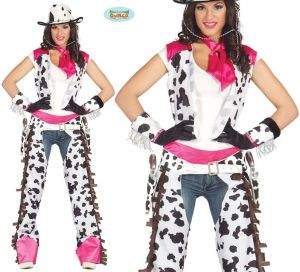Ladies Rodeo Cowgirl Lady Costume