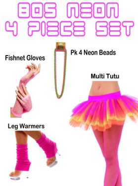 80s fancy dress set