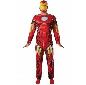Mens Deluxe Iron Man Costume