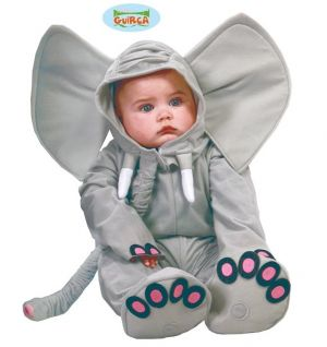 Babies Elephant Fancy Dress Costume