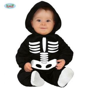 Babies Skeleton Fancy Dress Costume